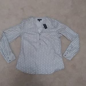 NWT The Limited Polka Dotted Blouse Size XS